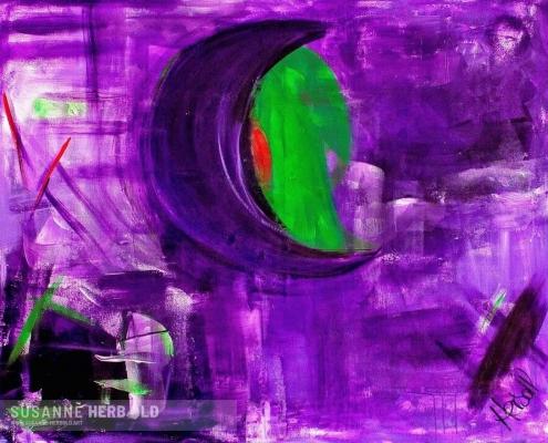 Galerie Susanne Herbold Originalwerk Anfang