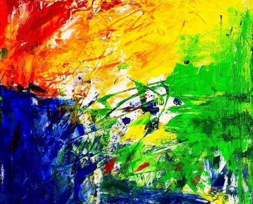 Galerie Susanne Herbold Originalwerk Behind