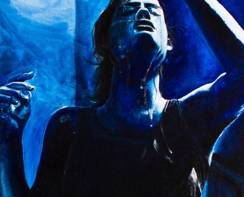 Galerie Susanne Herbold Originalwerk Blue 1