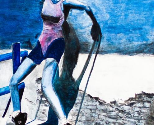 Galerie Susanne Herbold Originalwerk Blue 4
