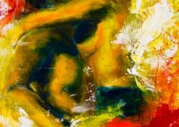 Galerie Susanne Herbold Originalwerk Burning