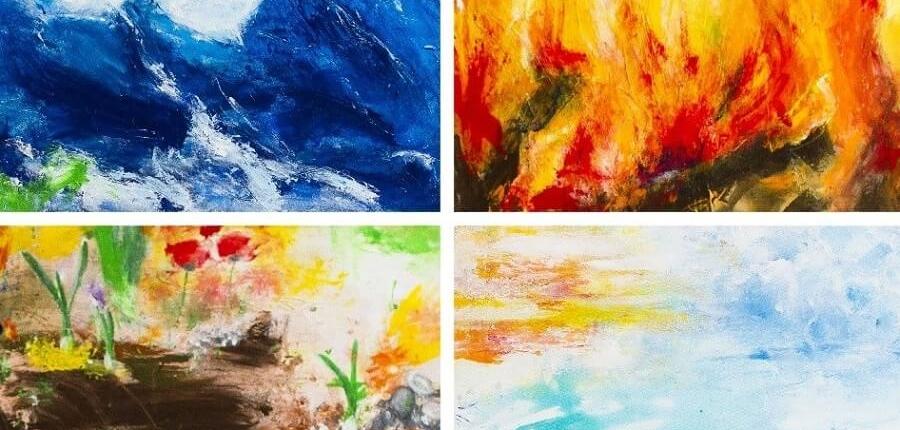 Galerie Susanne Herbold Originalwerk Elements