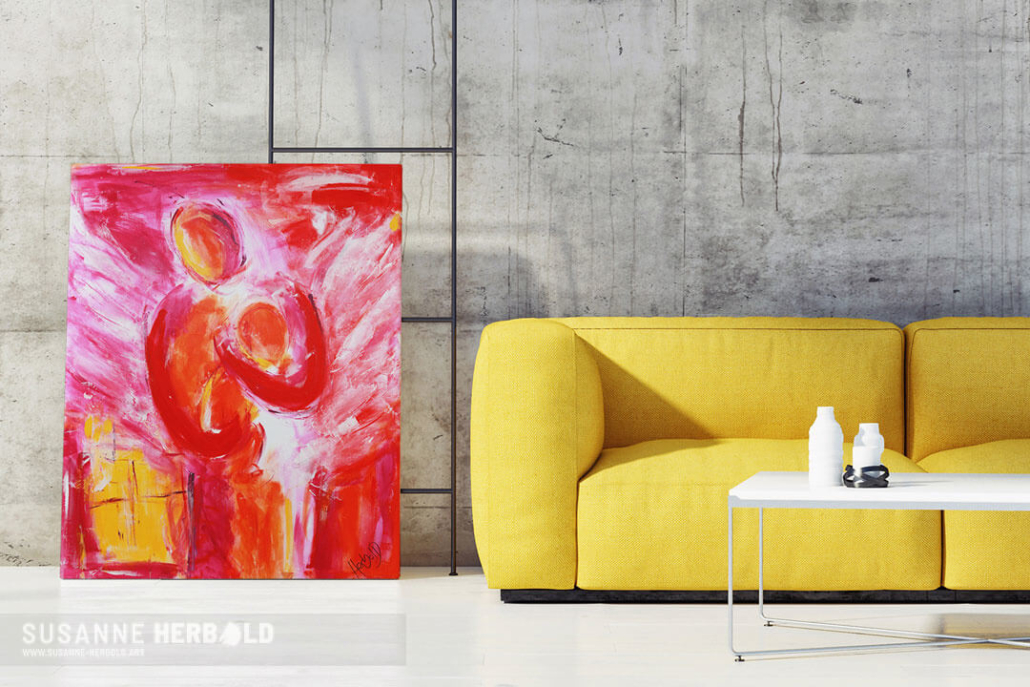HERBOLD-ART Leinwandedition BASICS Serie Emotions