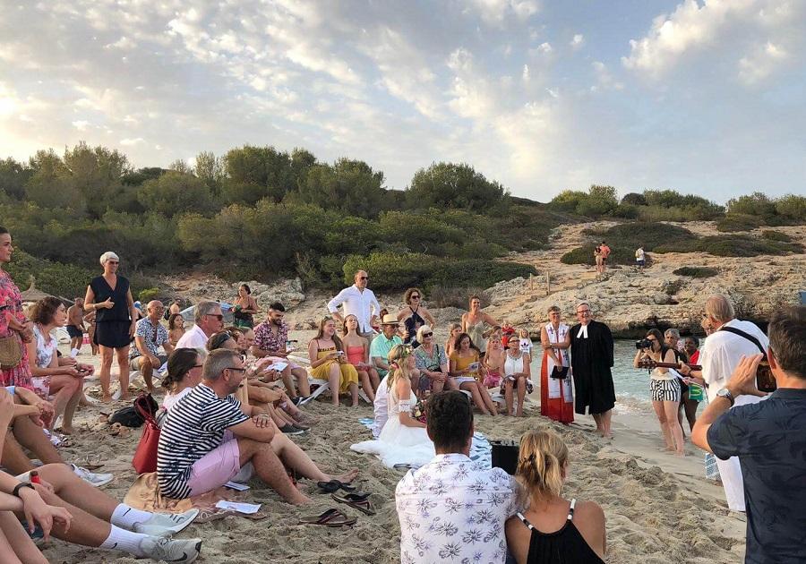 Strand Hochzeit Marcel Wüst