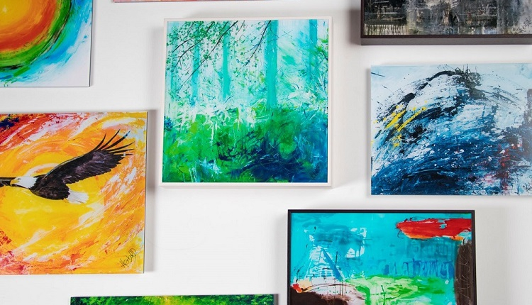 Art print as acrylic glass edition in different versions