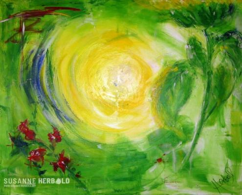 Galerie Susanne Herbold Originalwerk Morgentau