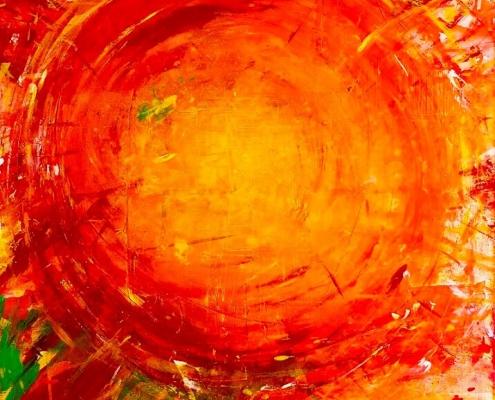Galerie Susanne Herbold Originalwerk Sun Moon Stars