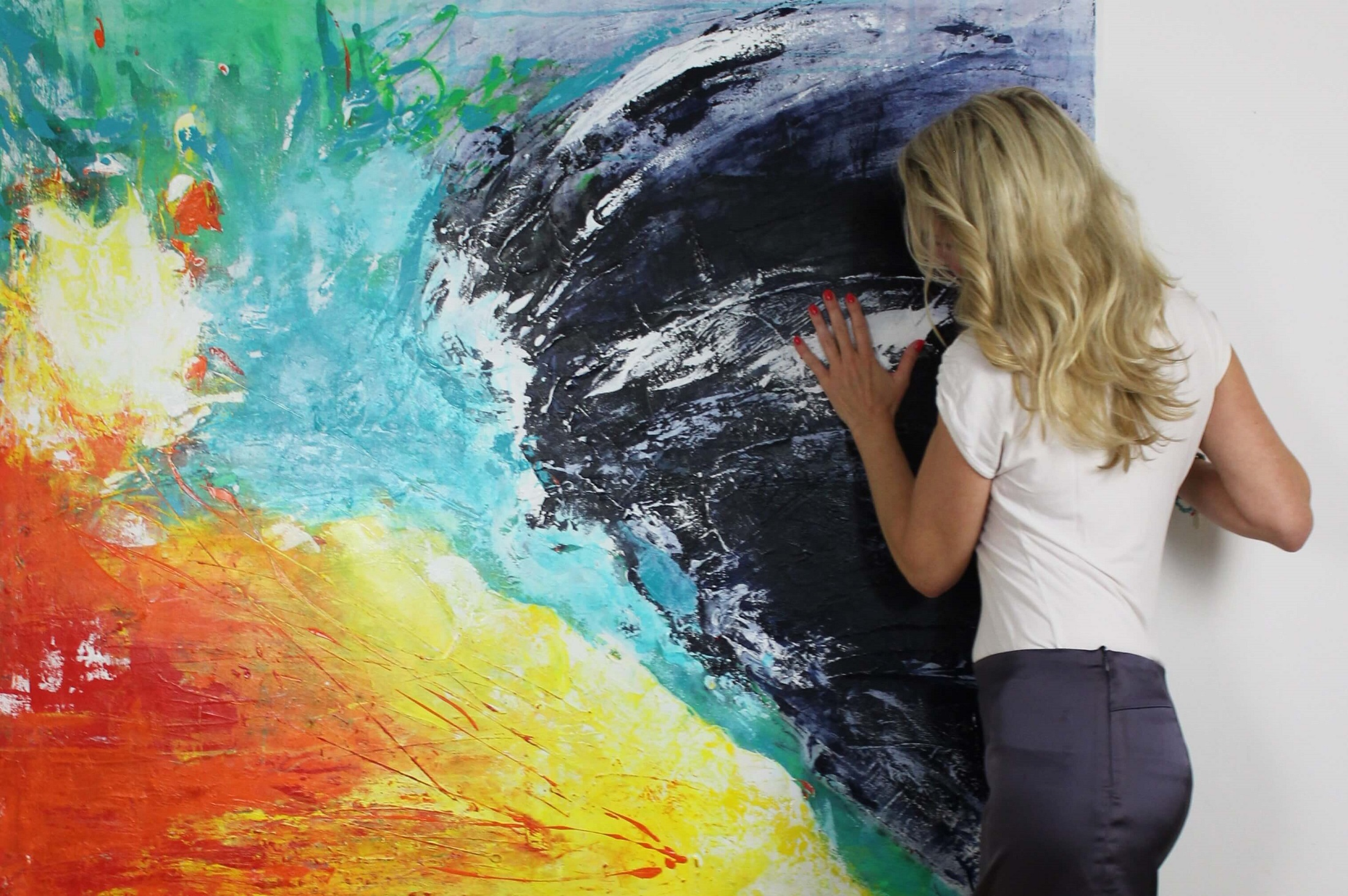 Susanne Herbold Künstlerin Köln mit dem Werk Borderline