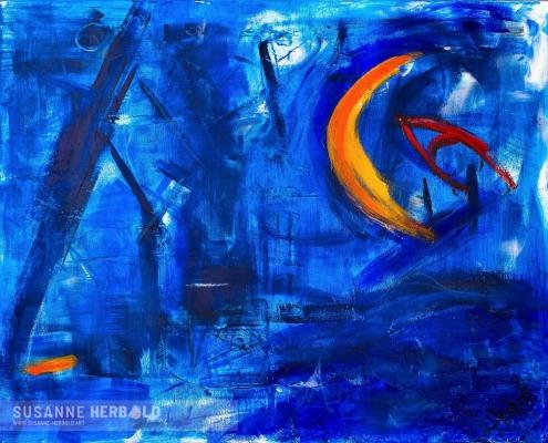 Galerie Susanne Herbold Originalwerk Tiefenrausch